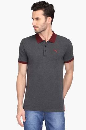 PUMAMens Slub Polo T-Shirt - 203162258