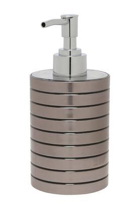 Round Stripe Textured Soap Dispenser