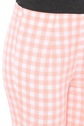 Womens Checked Pants