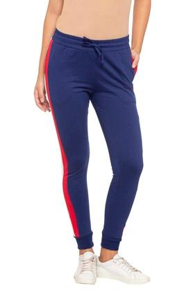 Womens Solid Joggers