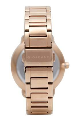 Womens Rose Gold Dial Analogue Watch - GD-2022-55