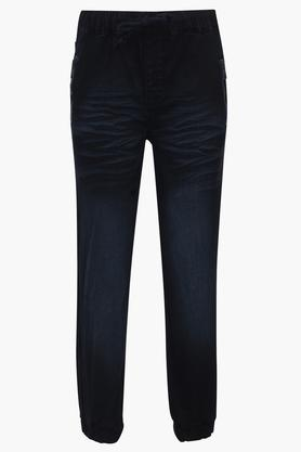 Boys 4 Pocket Whiskered Effect Joggers