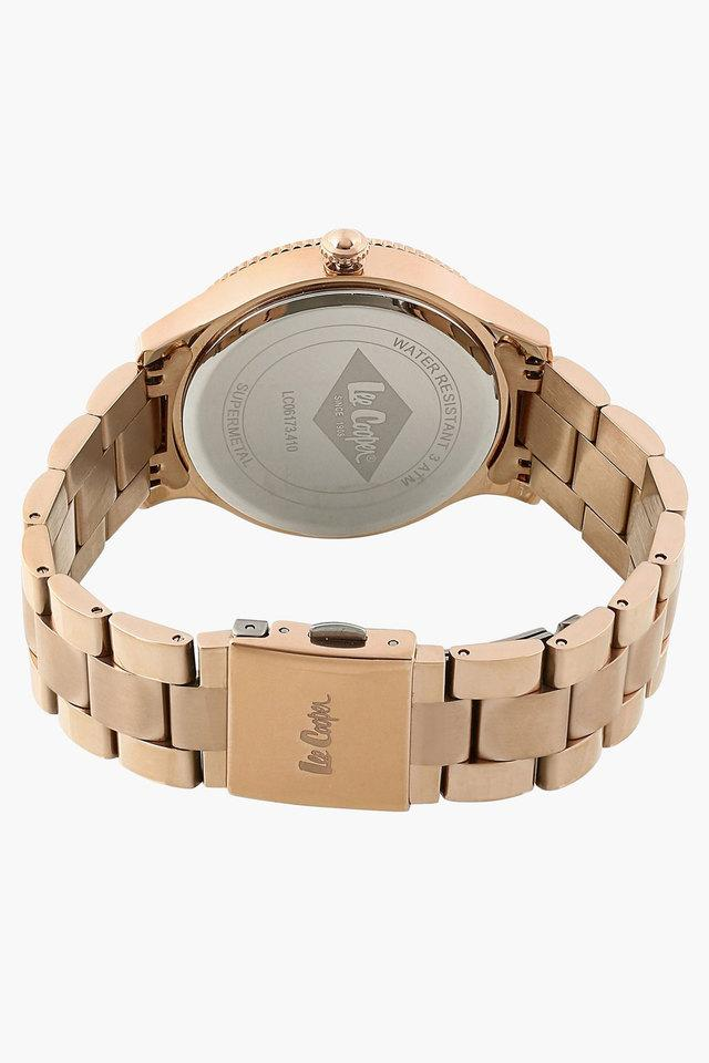 Womens Rose Gold Dial Multifunction Watch - LC06173410