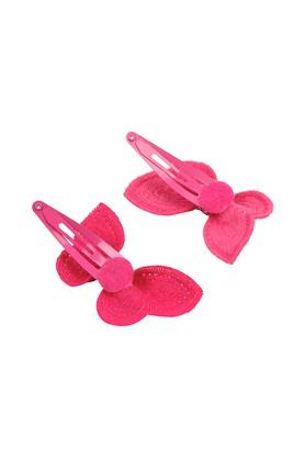 Girls Sequin Butterfly Tic Tac Hair Clips Pack of 2
