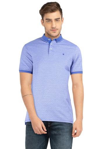 LOUIS PHILIPPE -  Light BlueT-Shirts & Polos - Main