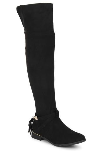 TRUFFLE COLLECTION -  Black Boots - Main