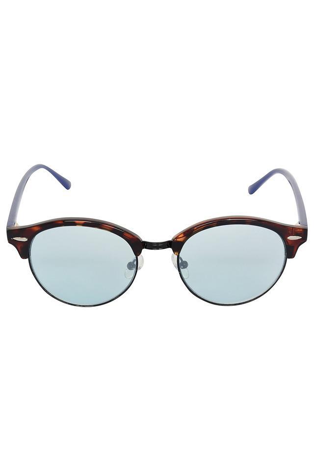 Unisex Half Rim UV protected Lens Club Master Sunglasses -1490-C02