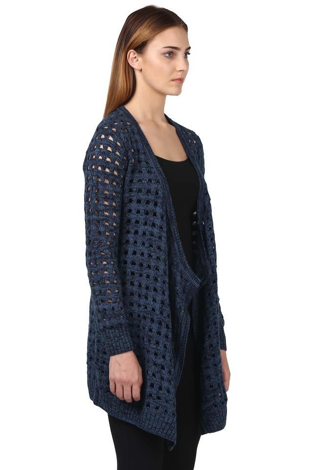 Womens Open Neck Knitted Shrugs