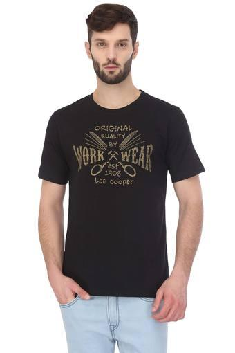 b77f26a90 Buy LEE COOPER Mens Round Neck Graphic Print T-Shirt | Shoppers Stop