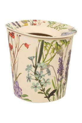 BACK TO EARTHConical Printed Dustbin With Lid - 204132879_9668