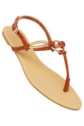 ALLEN SOLLY Womens Casual Wear Buckle Closure Flats - 203729663_9124