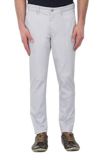 LOUIS PHILIPPE SPORTS -  Light Grey Cargos & Trousers - Main