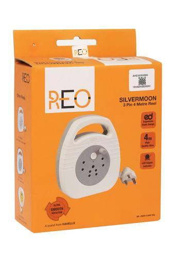 Sleek Smooth Rotation Extension Cord with 3 Pin and 4 Metre Reel