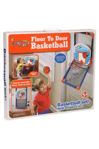 Unisex Floor To Door Basketball Set