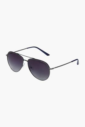 Buy Azzaro AZ60011C035 Unisex Aviator Polarized Sunglasses Online at Best Price in India