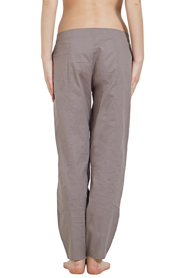 Womens Solid Lounge Pants