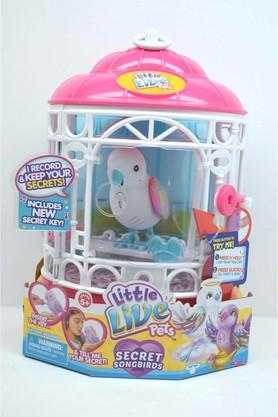 Unisex Bird with Cage Toy