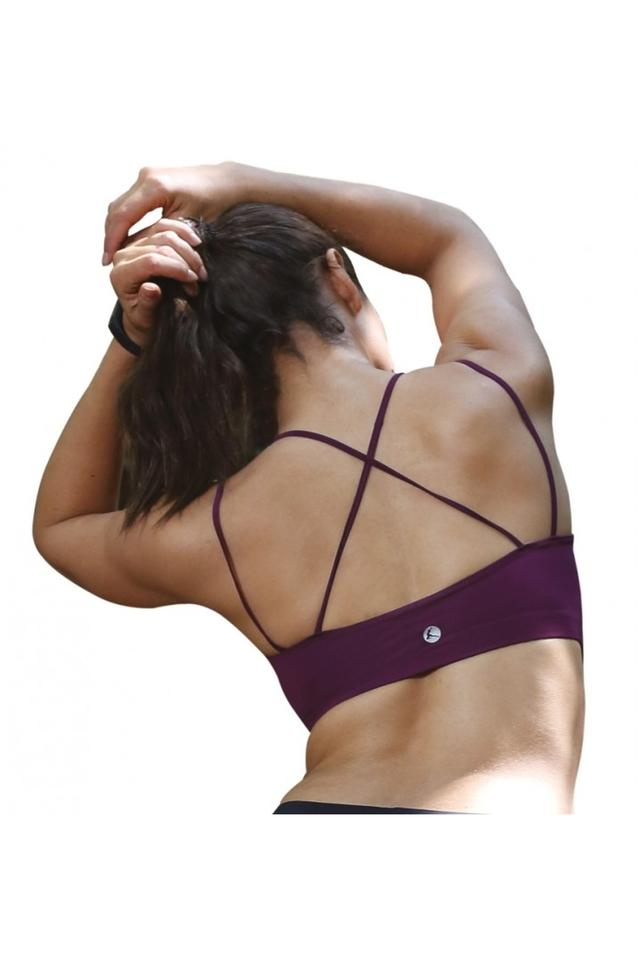Womens Non Padded Non Wired Solid Tube Bra