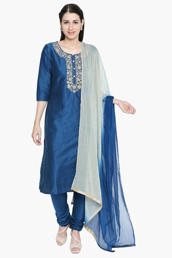 KASHISH -  Blue Ethnic Sets - Main