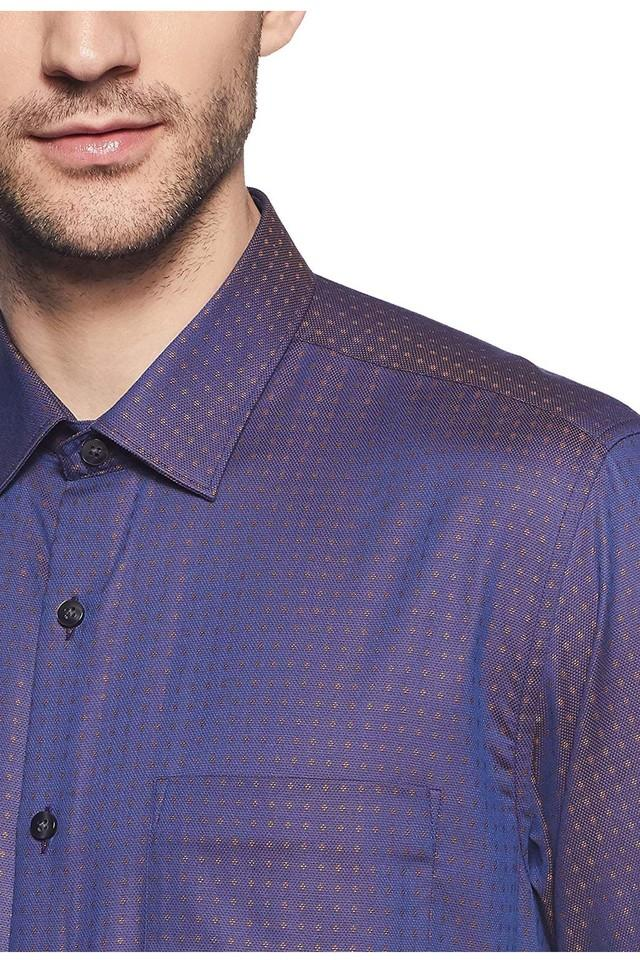 Mens Slim Collar Printed Shirt (Ceremonial)