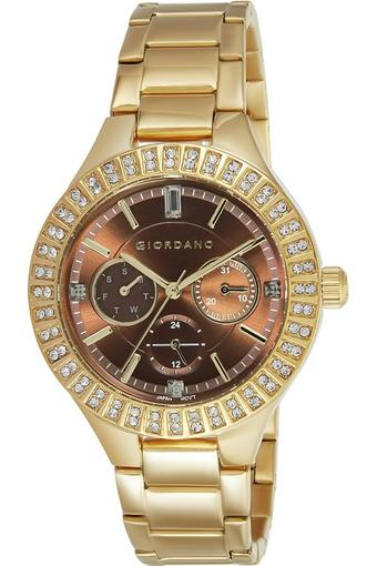 Womens Analogue Metallic Watch