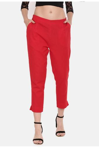 DE MOZA -  Red Pants - Main