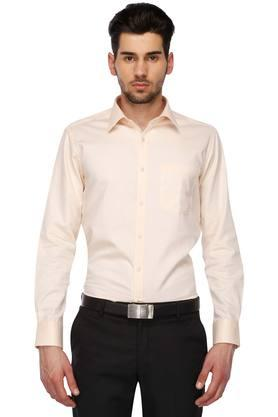 Mens Regular Collar Solid Shirt