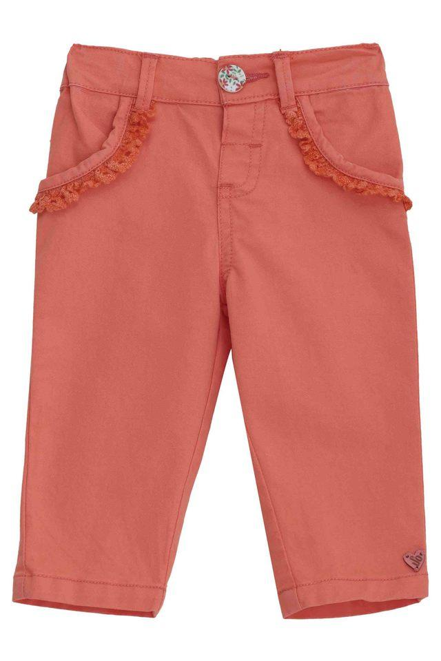 Kids Solid Woven Pants