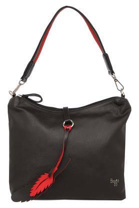 Womens Zip Closure Hobo Handbag