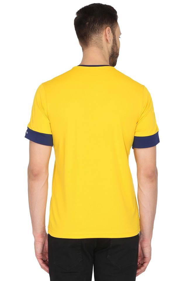 Mens V- Neck Solid T-Shirt