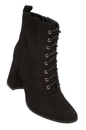 CERIZWomens Casual Wear Zipper Closure Boots - 204864297_9212