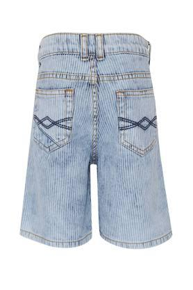 Boys 5 Pocket Stripe Shorts