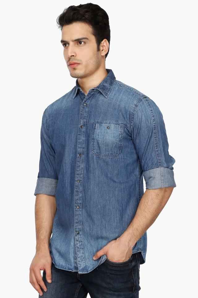 Mens Regular Collar Assorted Shirt