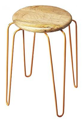 Multi Color Amber Stool