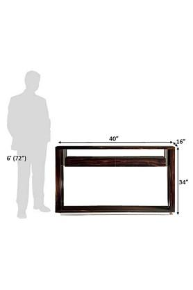 Brown Michele Console Table