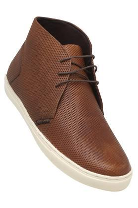 RED TAPE Mens Leather Lace Up Casual Shoes - 203413124