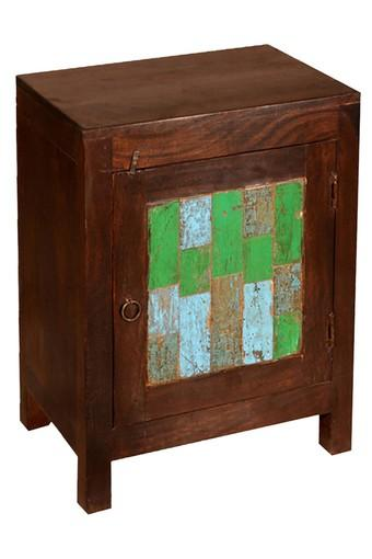 Multi Color Christina Bed Side Table