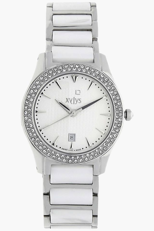 White Dial Analog Watch - NF9766DM01