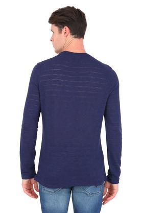 Mens Henley Slub T-Shirt