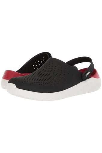 CROCS -  Black Flip Flops - Main
