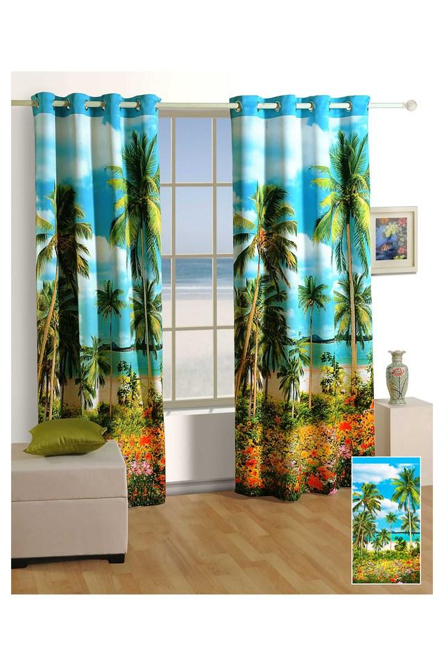 Printed Window Curtain