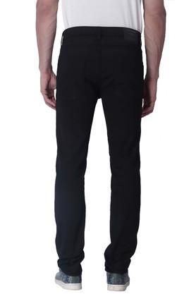 Mens Skinny Fit 5 Pocket Coated Jeans