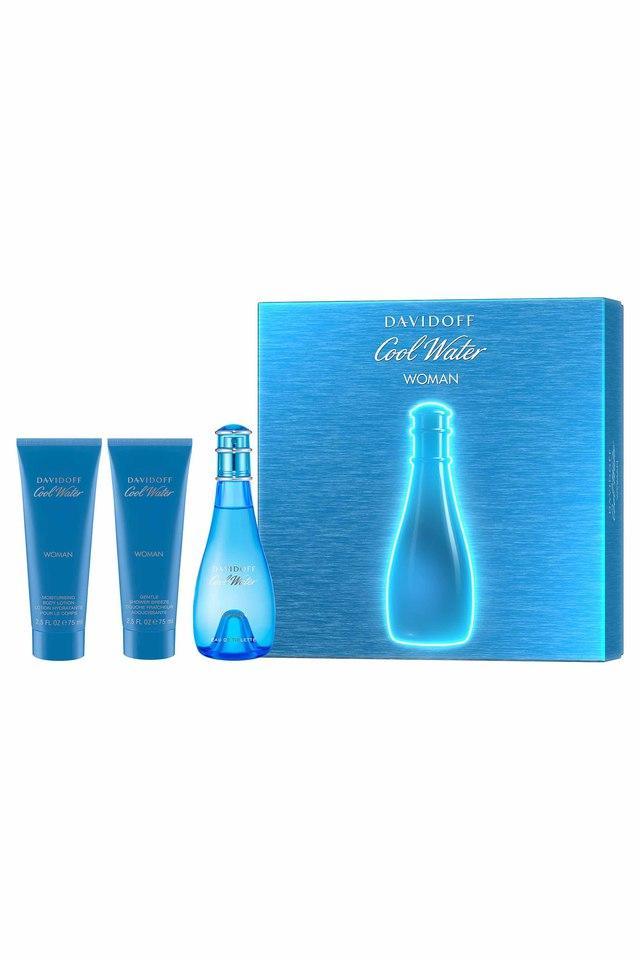 Gift Set-Perfume 100ml EDT + 75ml Body Lotion & 75ml Shower Breeze