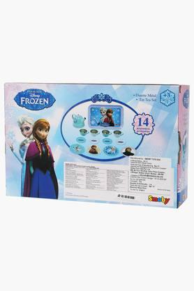 Unisex Frozen Porcelain Tea Play Set - 14 Pieces
