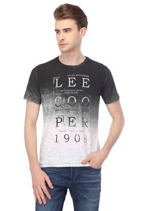 e095774ea X LEE COOPER Mens Round Neck Graphic Print T-Shirt. LEE COOPER. Mens Round  Neck Graphic ...