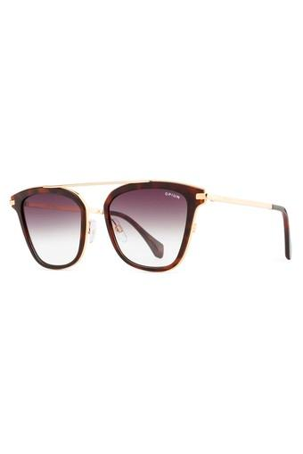 Mens Browline Polycarbonate Sunglasses
