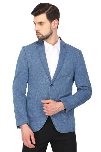 BLACKBERRY'S URBAN -  Indigo Suits & Blazers & Ties - Main