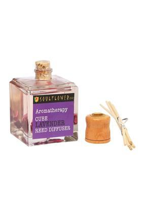 SOULFLOWER Aromatherapy Cube Lavender Reed Diffuser