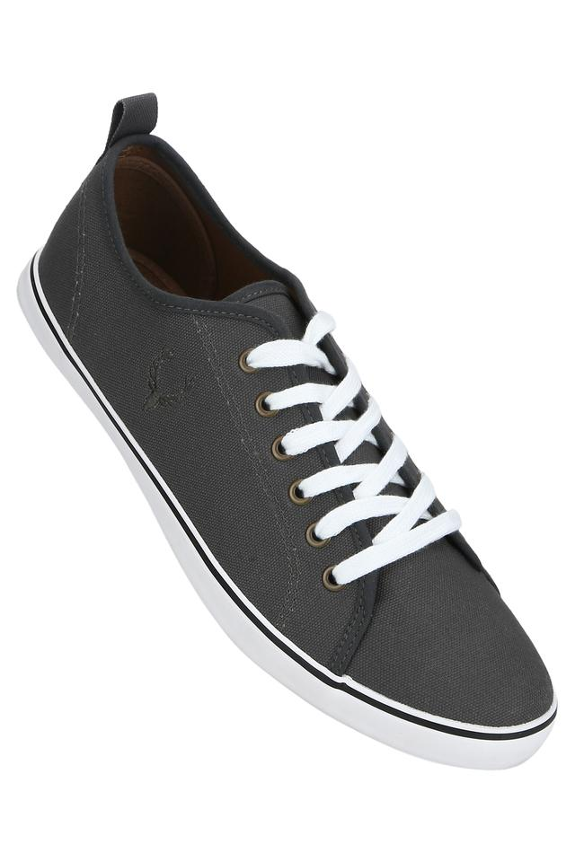 Mens Canvas Laceup Sneakers