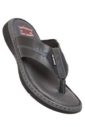 LEE COOPER Mens Leather Casual Wear Slippers - 203912131_9204